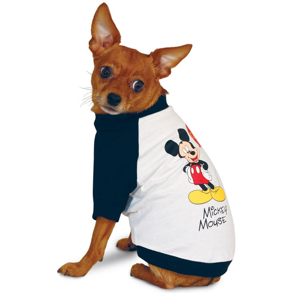 Триол-Дисней Футболка Mickey для собак, 4 размера, Triol-Disney
