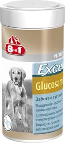 8в1 Эксель Глюкозамин для собак, в ассортименте, 8in1 Excel
