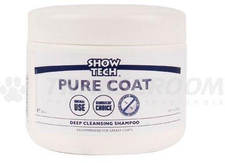 Шоу Теч Паста суперочищающая концентрированная Pure Coat для сильно загрязненных животных, 250 мл, Show tech