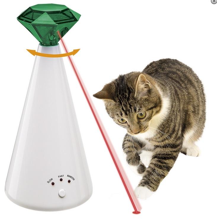Ферпласт Игрушка Phantom (Фантом) лазерная для кошек, диаметр 10, высота 21 см, Ferplast