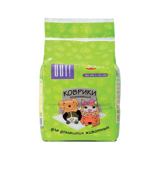 Пеленки гелевые впитывающие для домашних животных, в ассортименте, OUT!