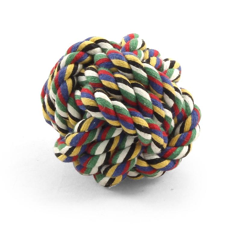 """Триол Веревочная игрушка """"Мяч"""" для собак, 2 размера, Triol"""