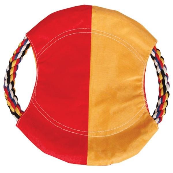 Триол Диск Фрисби из цветной веревки с тканью, в ассортименте, Triol