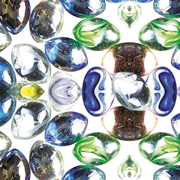 Триол Камни декоративные разноцветные, 500 г, 1 - 1,5 см, Triol