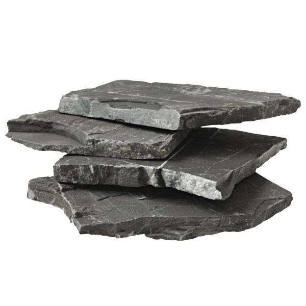Триол Камень сланец черный, 10-15 см, 20 кг, Triol