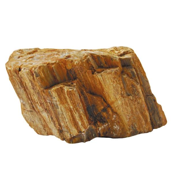 Триол Камень декоративный коричневый с разводами, 15-25 см, 20 кг, Triol