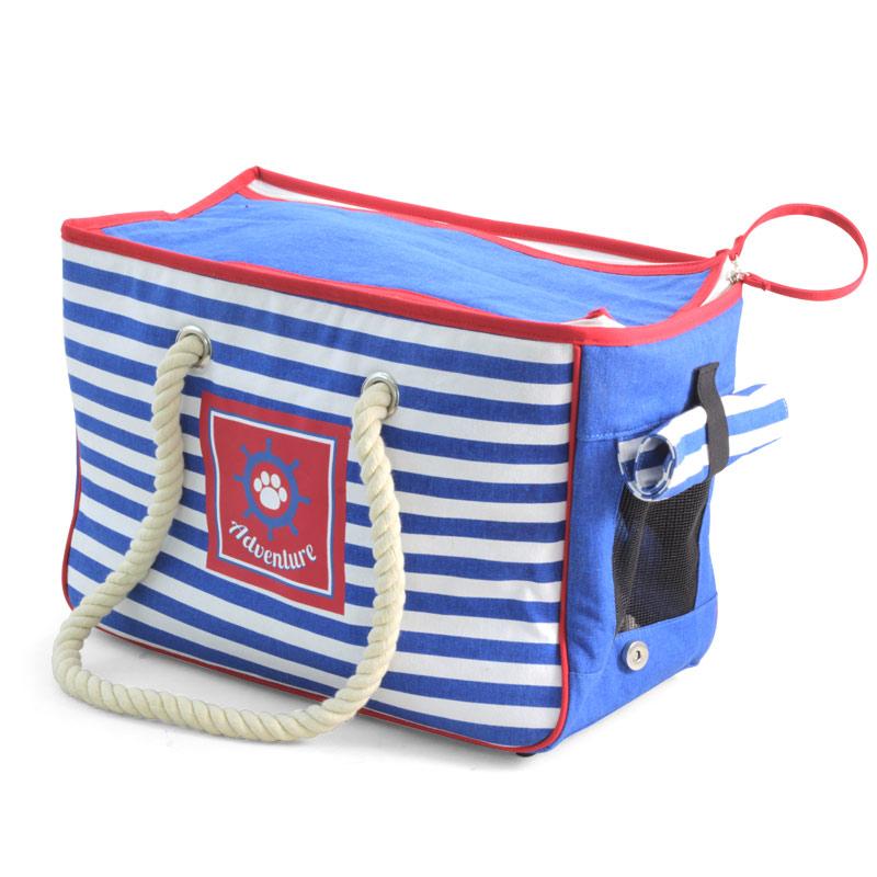 Триол Сумка-переноска «Nautica» морская для собак, 41*20*28 см, Triol