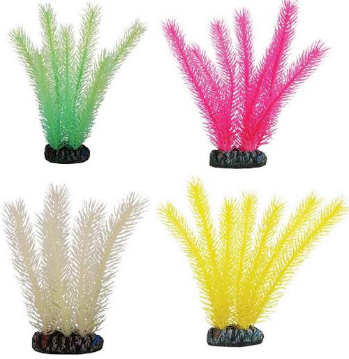 Лагуна Растение светящееся для аквариума, 20 см, в ассортименте, Laguna