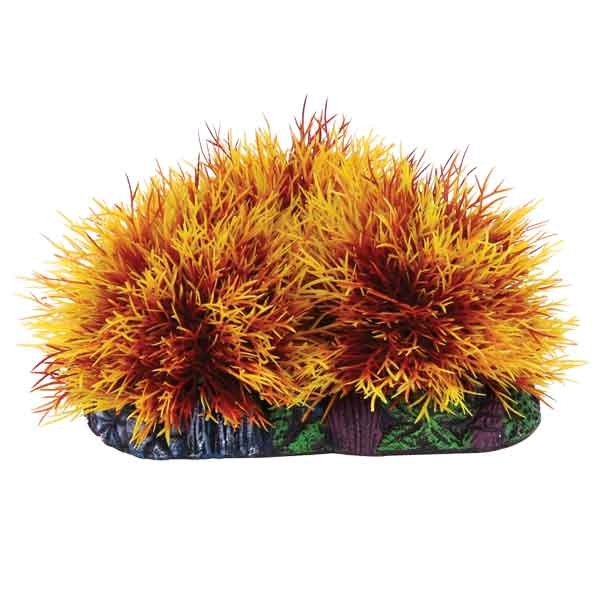 """Лагуна-Триол Растение-распылитель """"Куст"""" для аквариума, 9 см, в ассортименте, Lagunа-Triol"""
