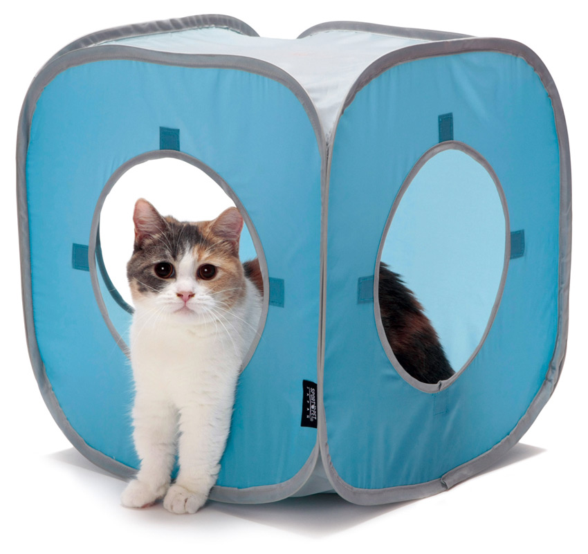 "Китти Сити Домик для кошек Кубик Рубик ""Kitty Play Cube"", 38*38*38 см, pl0057, Kitty City"