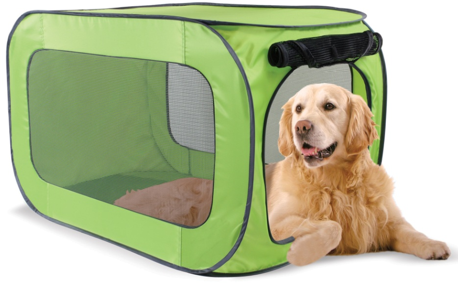 Китти Сити Дом-тент Portable dog kennel для собак, щенков, кошек, полиэстер, в ассортименте, Kitty City