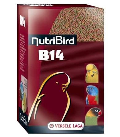 Верселе Лага Корм NutriBird B14 гранулированный для мелких и средних попугаев, 800 г, Versele-Laga