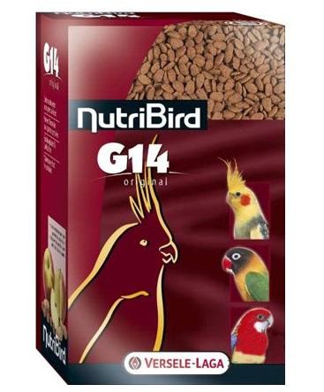 Верселе Лага Корм NutriBird G14 Original гранулированный для средних попугаев, 1 кг, Versele-Laga