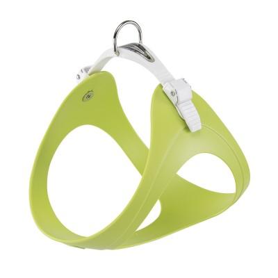 СПЕЦЦЕНА! Ферпласт Шлейка Ergoflex P для собак, зеленая, в ассортименте, резина/ПВХ, Ferplast