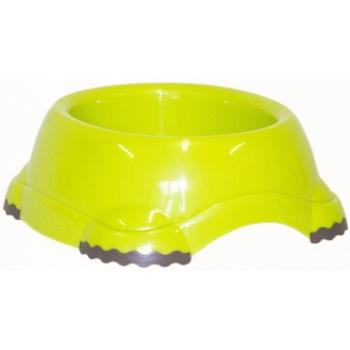 Модерна Продукт Миска пластиковая для кошек и собак Smarty, салатовая/лимонно-желтая, 5 объемов, Moderna Products