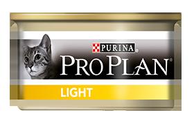 Консервы Пурина Про План низкокалорийные для кошек с избыточным весом Light, Индейка, 24*85 г, Purina Pro Plan