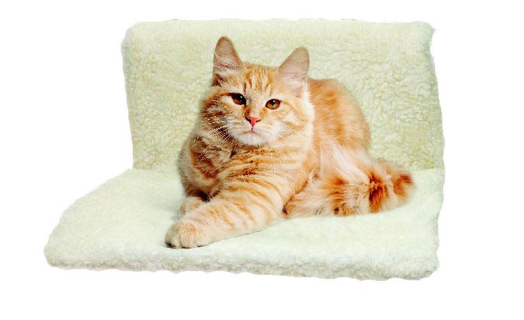 Триол Подвесной гамак на батарею для кошек 46*30 см, два вида, Triol