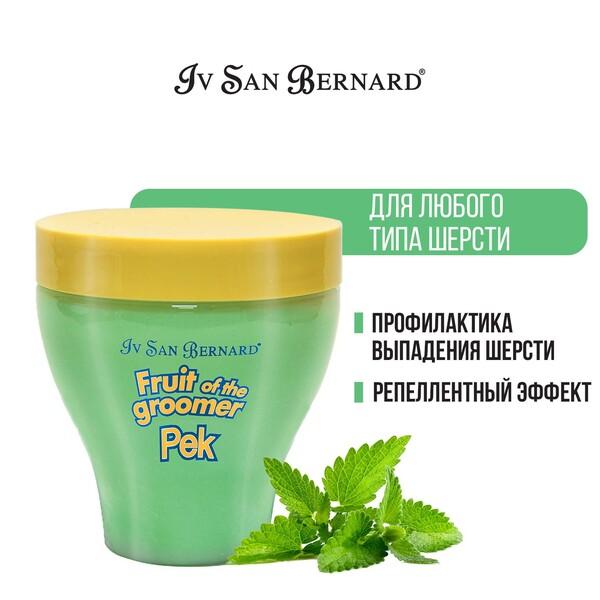 Ив Сен Бернард Fruit of the Grommer Восстанавливающая маска Mint (Мята) с витамином В6 для собак и кошек с шерстью любого типа, в ассортименте, Iv San Bernard