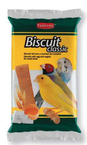 Падован Бисквиты для птиц Biscuit classic, 30 г, в ассортименте, Padovan