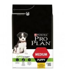 Корм Про План Puppy Medium с комплексом OPTISTART для щенков средних пород, Курица, в ассортименте, Pro Plan