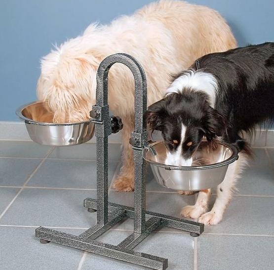 Штатив для мисок для собак своими руками